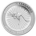 2019 オーストラリア カンガルー銀貨 1オンス 5枚セット 41mmクリアーケース付き 新品未使用