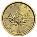 2019 カナダ メイプルリーフ金貨 1/4オンス (真空パック入り) 新品未使用