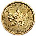 2019 カナダ メイプルリーフ金貨 1/10オンス (真空パック入り) 新品未使用