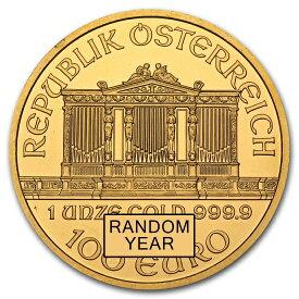 ウィーン金貨 オーストリア 1オンス ランダムイヤー(37mmクリアーケース付き)
