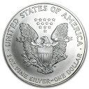 新品未使用 1997 アメリカ イーグル銀貨1オンス(41mmクリアーケース付き)