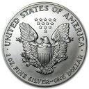 新品未使用 1992 アメリカ イーグル銀貨1オンス(41mmクリアーケース付き)