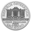 新品未使用 ランダムイヤー オーストリア ウィーン銀貨 1オンス 37mmクリアーケース付き
