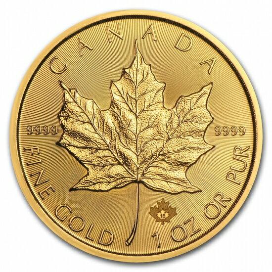 新品未使用 2018 カナダ メイプル金貨 1オンス10枚(造幣局ケースと30mmクリアケース付き )