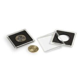 メイプル金貨メイプルプラチナ1オンス用10枚セット30mm【 正方形】 (ライトハウス社製コインカプセル)