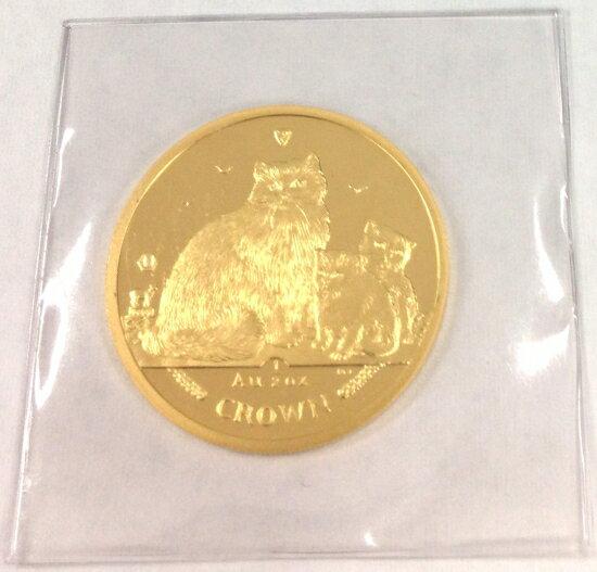 マン島キャット金貨2007年製 1/2オンス D