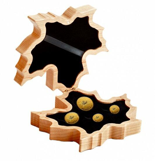 2018 カナダ メイプル金貨 4枚セット Fractional セット 箱付き