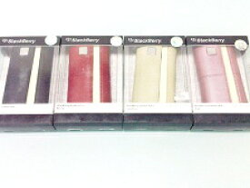 BlackBerry Leather Folio Sandstone RIM 純正 ケース ブラック/ベージュ/ブルー/ピンク