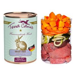 【Terra Canis テラカニス】グレインフリー ウサギ肉 400g 【ドッグフード 缶詰】※DM便不可※