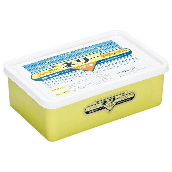 アルボース 食器・器物用クリーナー スーパーネリーデラックス 850g【取り寄せ商品・即納不可・代引き不可・返品不可】