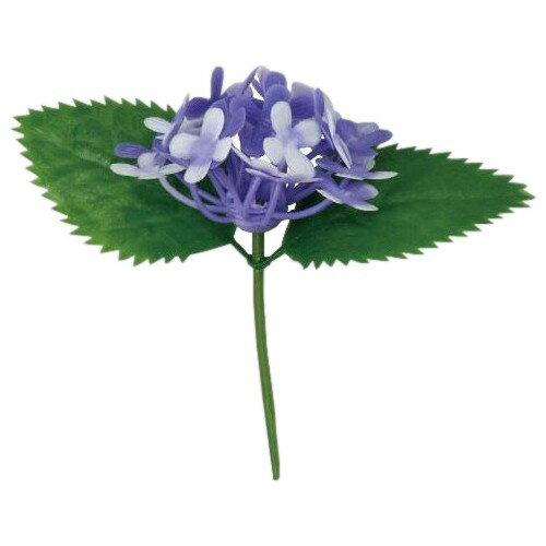 造花 アジサイ(紫) DK-61B 100入【取り寄せ商品・即納不可】