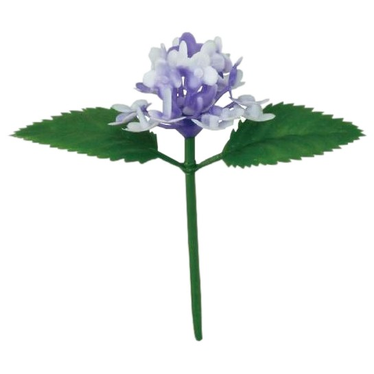 造花 アジサイ小(紫) 200入【取り寄せ商品・即納不可】