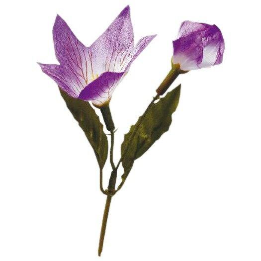 造花 シルクフラワー 桔梗 SK-015 100入【取り寄せ商品・即納不可】