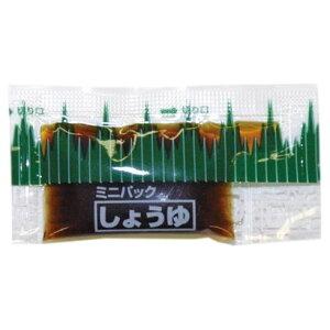 ミニパック醤油 バラン柄小 約3.0ml 750個×6箱【工場直送・代引き不可・時間指定不可・沖縄、離島不可】