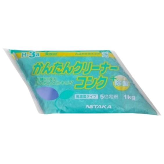 ニイタカ 拭き掃除洗剤 かんたんクリーナーコンク 濃縮タイプ 1kg×4袋入