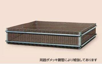 【送料無料】サンポリ 堆肥枠 1900X1900X420 A-19