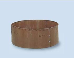 【送料無料】サンポリ 円形堆肥枠 1800X500 H-18