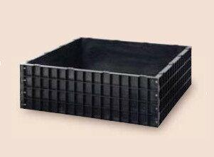 【送料無料】サンポリ 堆肥枠 1240X1240X400 A-12
