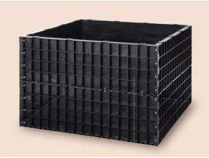 【送料無料】サンポリ 堆肥枠 1240X1240X800 A-22