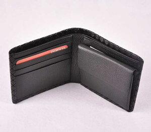 【印傳屋】【印伝屋】の財布札入J黒地黒漆・網代編《無料ラッピング承ります》【RCP】【メンズ財布/二つ折り財布(小銭入れあり)】