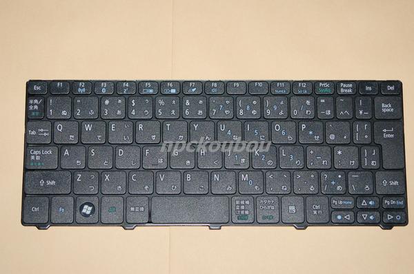 ■新品■ Acer Aspire One D257, Happy, happy2 日本語キーボード 黒
