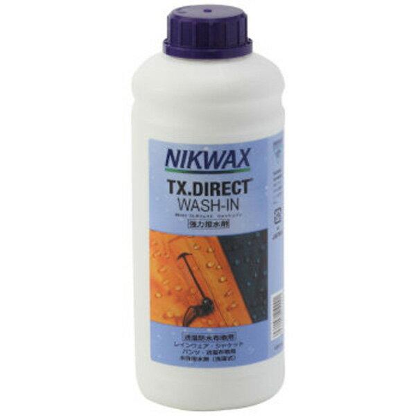★楽天カード決済限定!ポイント10倍!NIKWAX(ニクワックス) TXダイレクトWASH-IN1L EBE253洗濯用洗剤 柔軟剤 ウェアアクセサリー アウトドアウェア