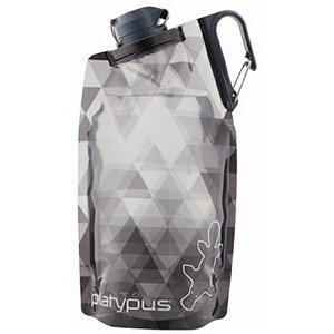 platypus(プラティパス) デュオロックソフトボトル/グレープリズム/1.0L 25600アウトドアギア ソフトパック 水筒 マグボトル グレー おうちキャンプ ベランピング