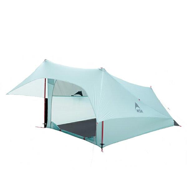 MSR(エムエスアール) フライライト 37200ブルー 二人用(2人用) テント タープ シェルター シェルター アウトドアギア