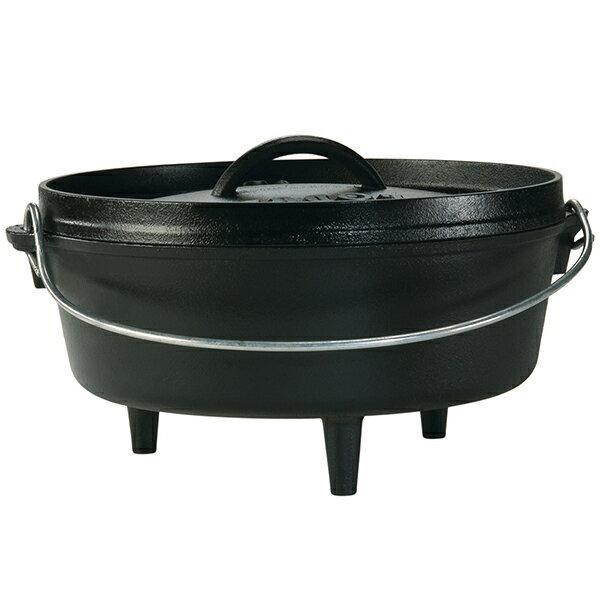 LODGE(ロッジ) [正規品]LDG キャンプオーブン 10 L10CO3 19240119ダッチオーブン クッキング用品 バーべキュー ダッチオーブン10インチ アウトドアギア