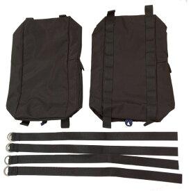 Ripen(ライペン アライテント) サイドポケット ブラック 0210000アウトドアギア バッグ用アタッチメント バッグ バックパック リュック ブラック おうちキャンプ ベランピング