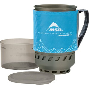MSR(エムエスアール) ウィンドバーナーアクセサリーポット/ブルー/1.8L 36701アウトドアギア クッカーセットチタン クッカーセット バーべキュー クッキング クッキング用品 クッカー ブルー