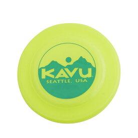 KAVU(カブー) ディスク/Lime 19820326アウトドアギア フライングディスク おもちゃ スポーツトイ アクショントイ グリーン おうちキャンプ ベランピング