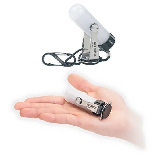 NEXTORCH(ネクストーチ) UL360(360°ユーティリティポケットランタン)/70ルーメン NEXT050単3形(AA) ハンディライト ランタン LEDタイプ アウトドアギア