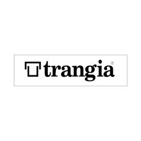 Trangia(トランギア) トランギアステッカーL ブラック TR-ST-BK2アウトドアギア スキー スノーボード用アクセサリー ステッカー おうちキャンプ