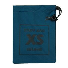 ISUKA(イスカ) スタッフバッグ XS/インディゴ 355009ブルー アクセサリーポーチ バッグ アウトドア スタッフバッグ スタッフバッグ アウトドアギア