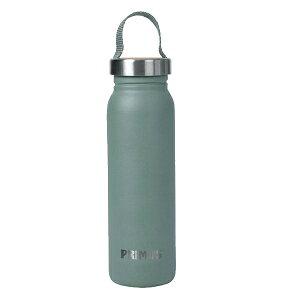primus(プリムス) クルンケン・ボトル 0.7L(フロストグリーン) P-741940アウトドアギア アルミボトル 水筒 マグボトル グリーン おうちキャンプ ベランピング