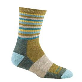 DARN TOUGH(ダーンタフソックス) ウィメンズ1904ストライプマイクロクルークッション/NGストライプ/S 19441904アウトドアウェア 女性用ソックス ソックス レディースウェア 靴下 ブルー 女性用