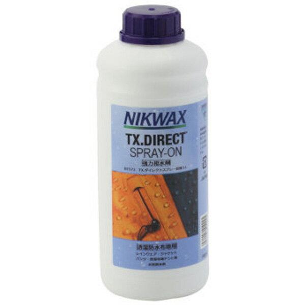 NIKWAX(ニクワックス) TXダイレクトスプレー詰替1L EBE573アウトドア アウトドア スポーツ 撥水剤 撥水剤 アウトドアギア