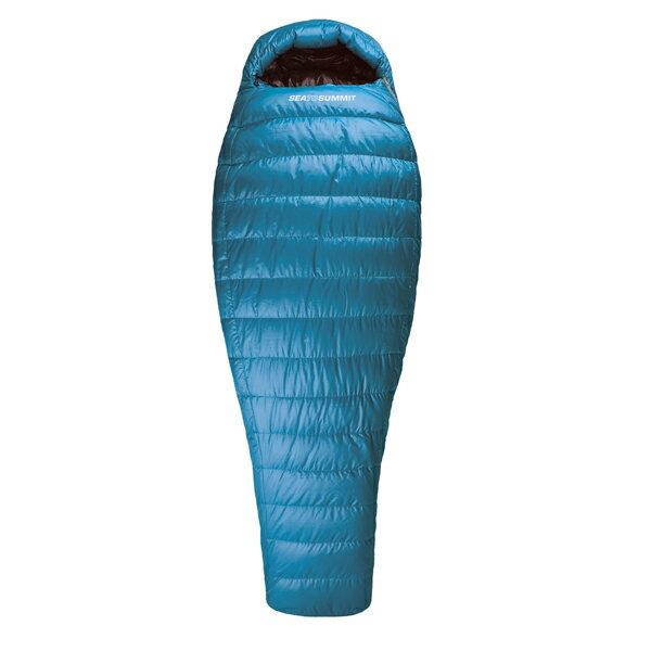 SEA TO SUMMIT(シートゥーサミット) テイラス TsI/ブルー/レギュラー ST81302男女兼用 ブルー 一人用(1人用) スリーシーズンタイプ(三期用) シュラフ 寝袋 アウトドア用寝具 マミー型 マミースリーシーズン アウトドアギア