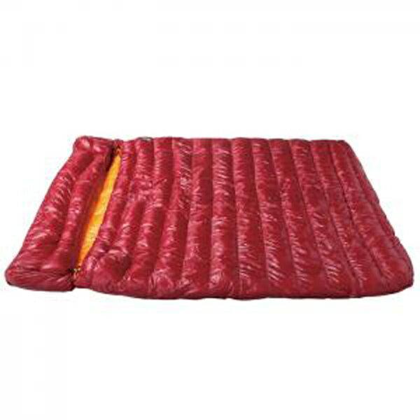 NANGA(ナンガ) ラバイマーバッグW400/RED NS-RABA400レッド シュラフ 寝袋 アウトドア用寝具 封筒型 封筒サマー アウトドアギア
