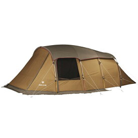 snow peak(スノーピーク) エントリー2ルーム エルフィールド TP-880ブラウン 四人用(4人用) オールシーズンタイプ テント タープ キャンプ用テント キャンプ4 アウトドアギア
