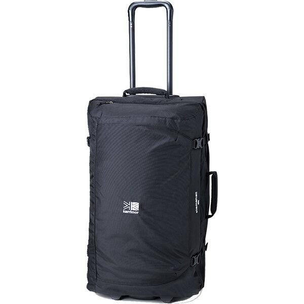 karrimor(カリマー) クラムシェル 80/ブラック 55912ブラック キャリーバッグ バッグ ブランド雑貨 トラベル・ビジネスバッグ キャスターバッグ アウトドアギア