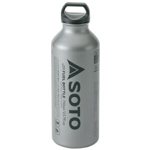 SOTO(ソト 新富士バーナー) 広口フューエルボトル 700ml SOD-700-07-24アウトドアギア 燃料タンク アウトドア 燃料 おうちキャンプ ベランピング