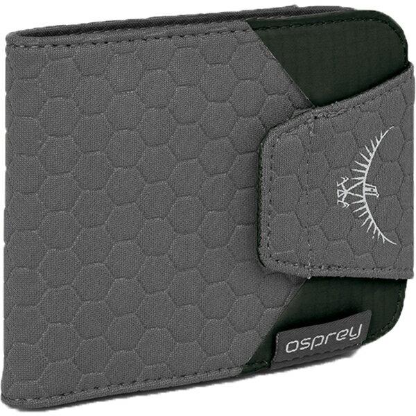 OSPREY(オスプレー) クイックロックウォレット/シャドーグレー/ワンサイズ OS58822グレー メンズ財布 ケース ポーチ、小物バッグ ワレット・財布 アウトドアギア
