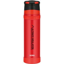 THERMOS(サーモス) 山専ステンレスボトル/ マットレッド(MTRD)/ 0.9L FFX-901アウトドアギア ステンレスボトル 水筒 マグボトル レッド おうちキャンプ ベランピング