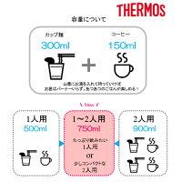 THERMOS(サーモス)山専ステンレスボトル/マットレッド(MTRD)/0.9LFFX-901アウトドアギアステンレスボトル水筒マグボトルレッドおうちキャンプベランピング