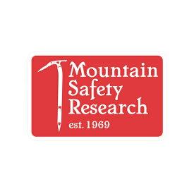 MSR(エムエスアール) MSRヘリテイジステッカー 36905アウトドアギア スキー スノーボード用アクセサリー ステッカー レッド おうちキャンプ ベランピング