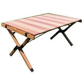 ANOBA(アノバ) ウッドロールトップテーブル AN005アウトドアギア ローテーブル レジャーシート おうちキャンプ ベランピング