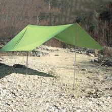 Ripen(ライペン アライテント) ビバークタープM 0381100グリーン タープ タープ テント スクエア型タープ スクエア型タープ アウトドアギア