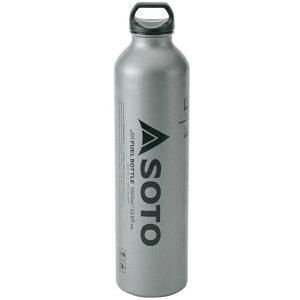 SOTO(ソト 新富士バーナー) 広口フューエルボトル 1000ml SOD-700-10-24アウトドアギア 燃料タンク アウトドア 燃料 おうちキャンプ ベランピング